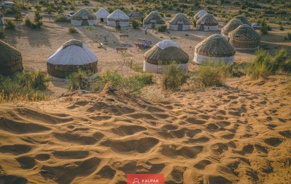 Karakum Desert Yurt Camp