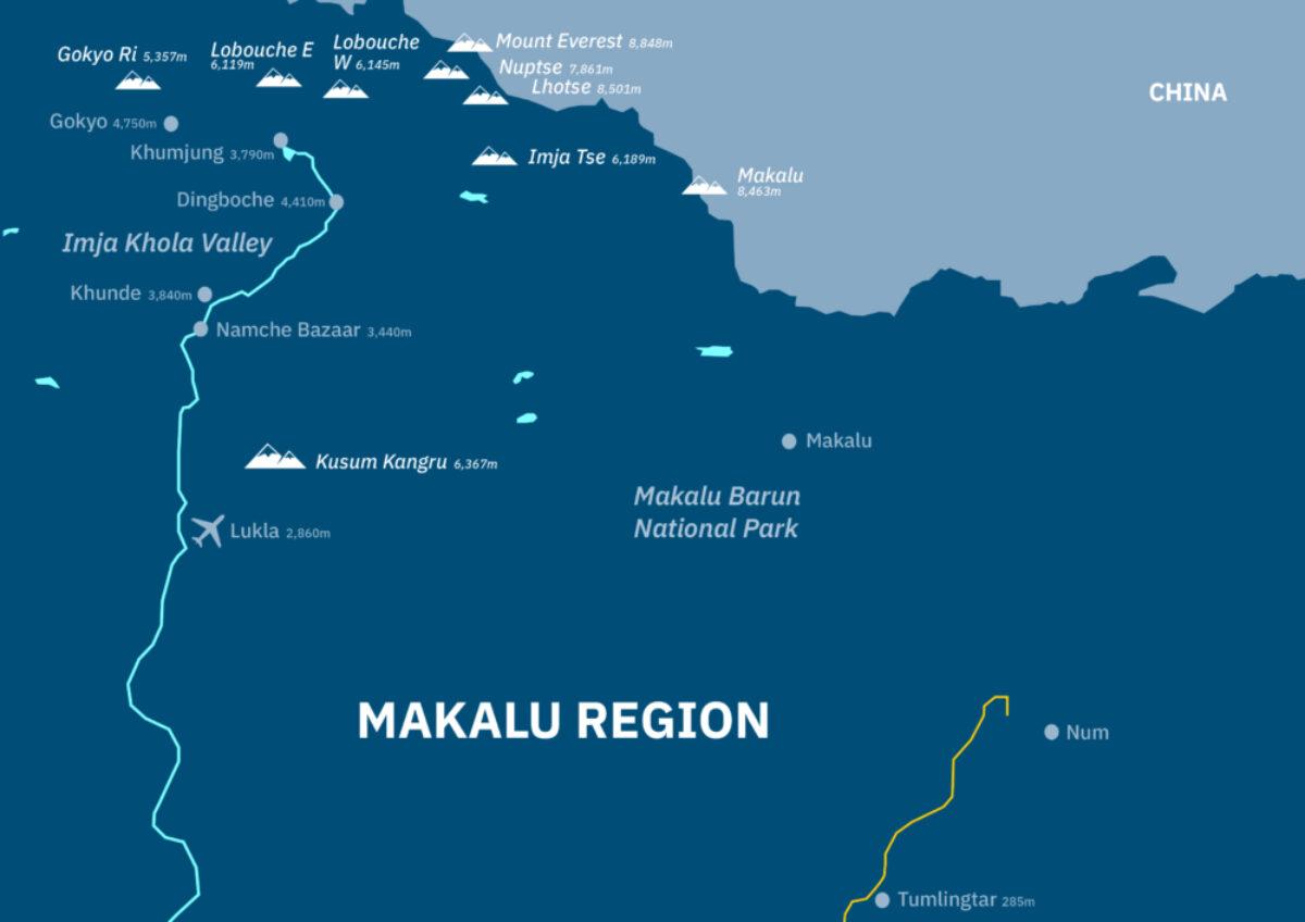 Makalu-Region