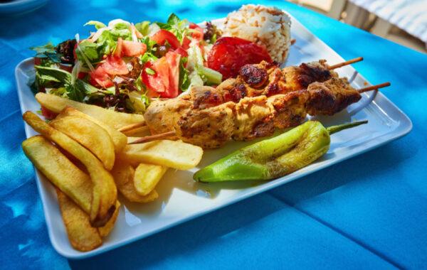 Get a taste of Jordan at Amman's famous falafel stands and kunafa stalls