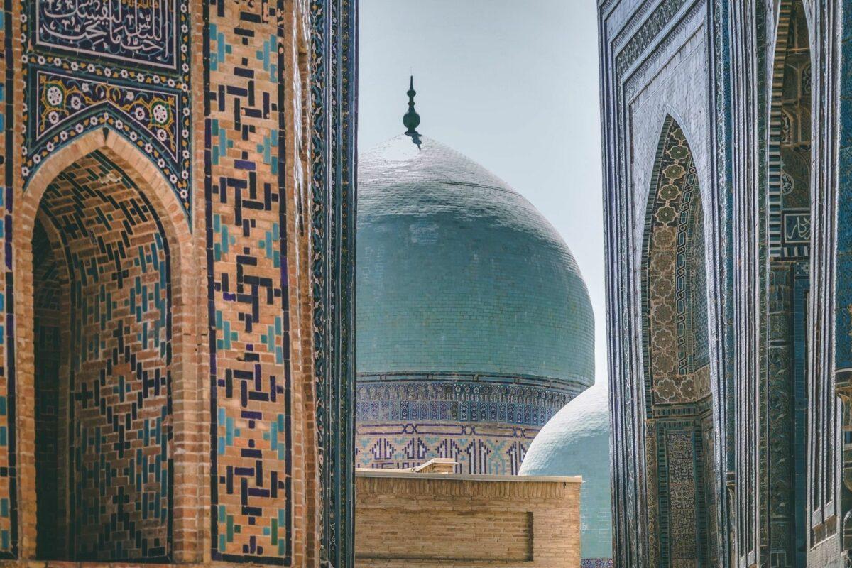023 Kalpak Samarkand Architecture Central Asia