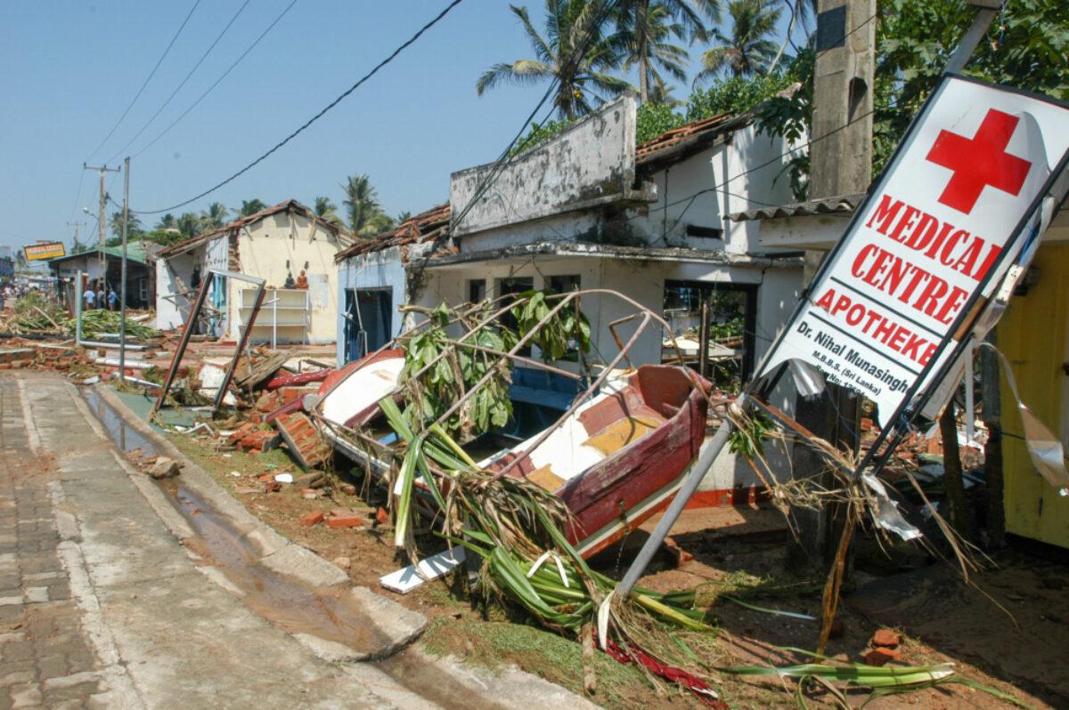 031 Sri Lanka Hikkaduwa Tsunami Damage