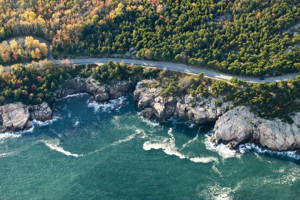 Acadia National Park Maine USA