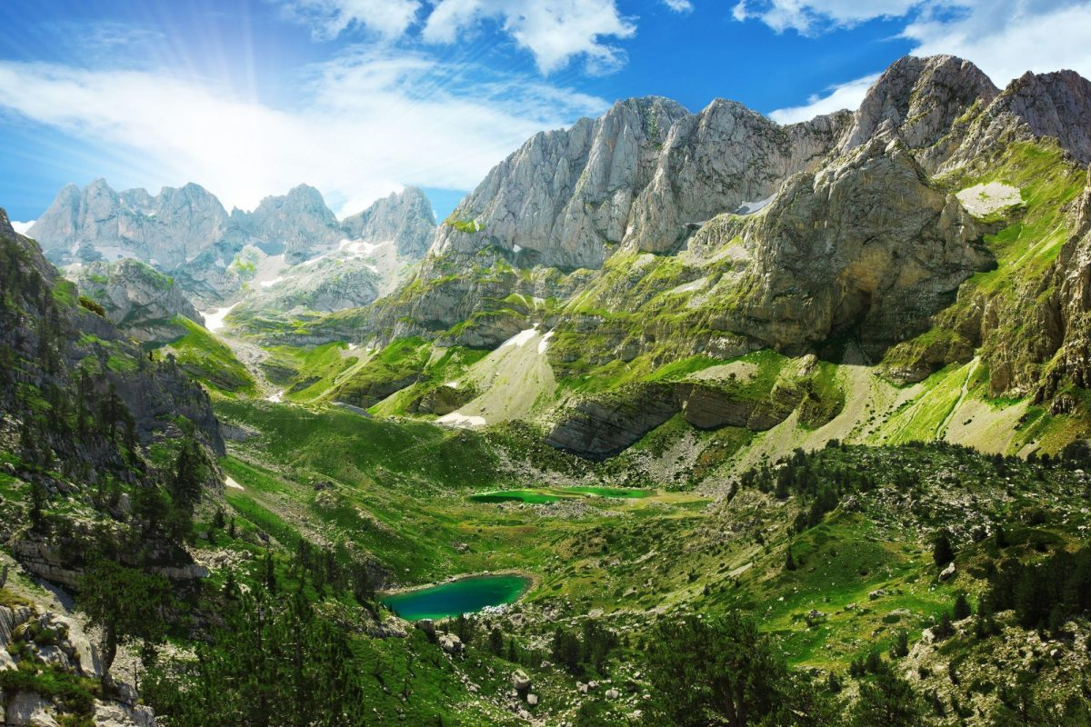 Albania Alps Valbonia Theth