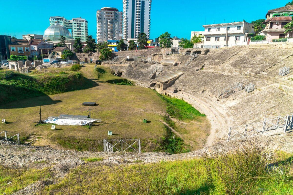 Albania Durres Dyrrachium Ancient City