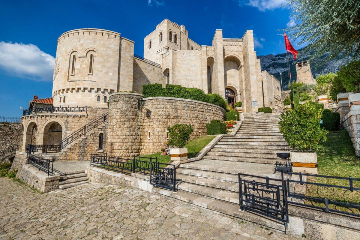 Albania Kruje castle