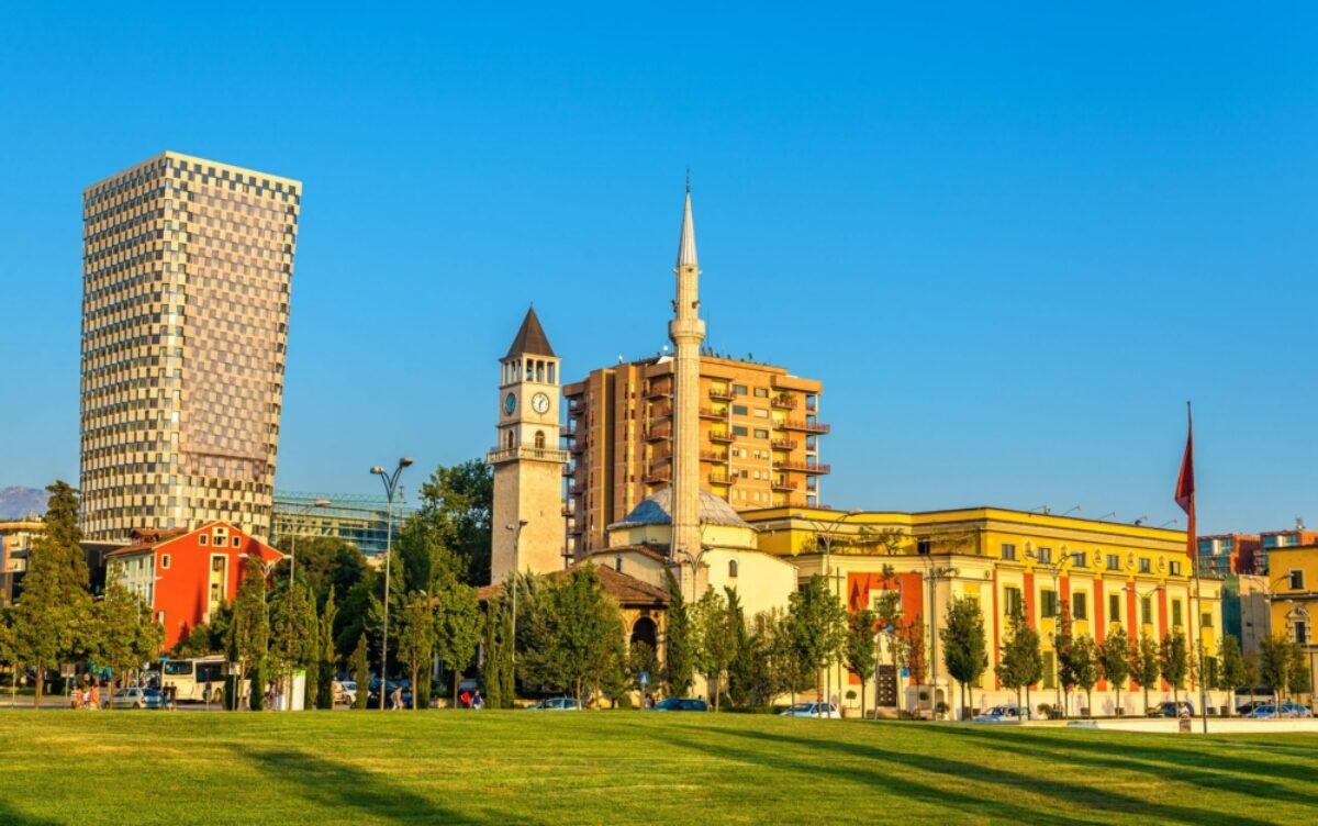 Albania Tirana The Ethem Bey Mosque