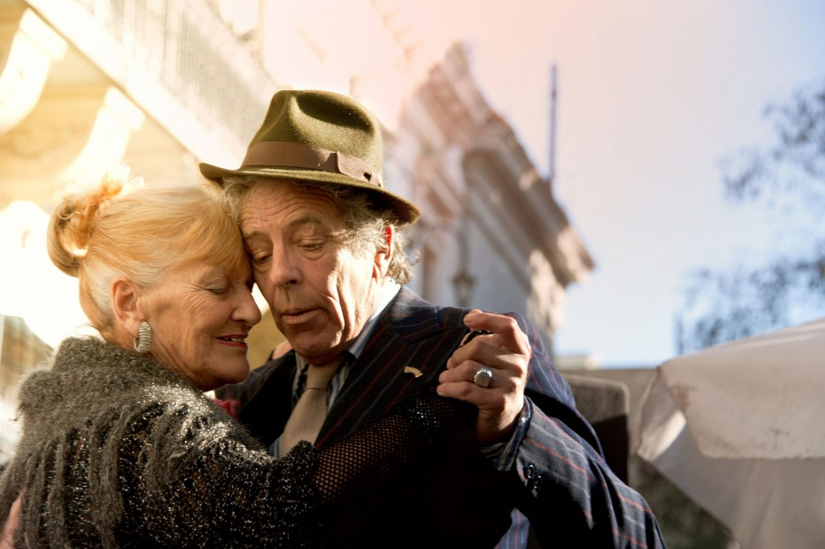 Argentina BA tango couple