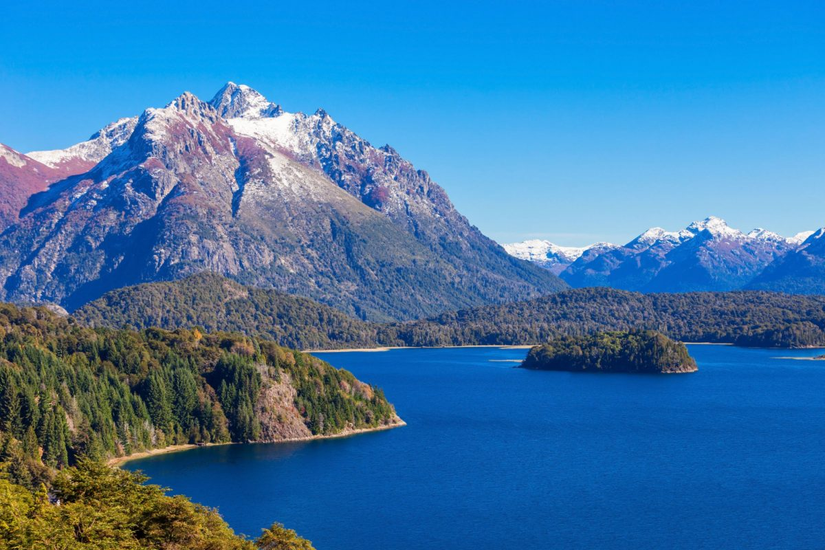 Argentina bariloche Tronador Mountain and Nahuel Huapi Lake Bariloche Tronador is an extinct stratovolcano in the southern Andes
