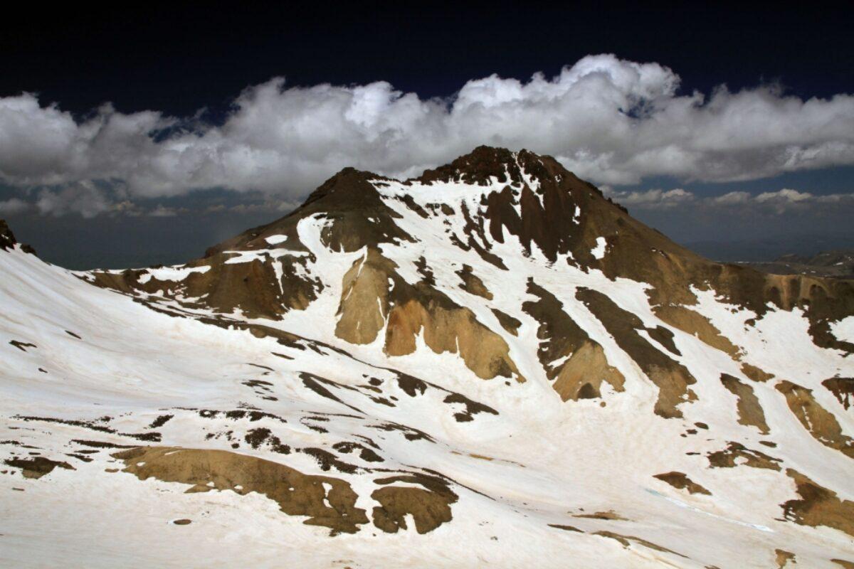 Armenia Mount Aragats peak