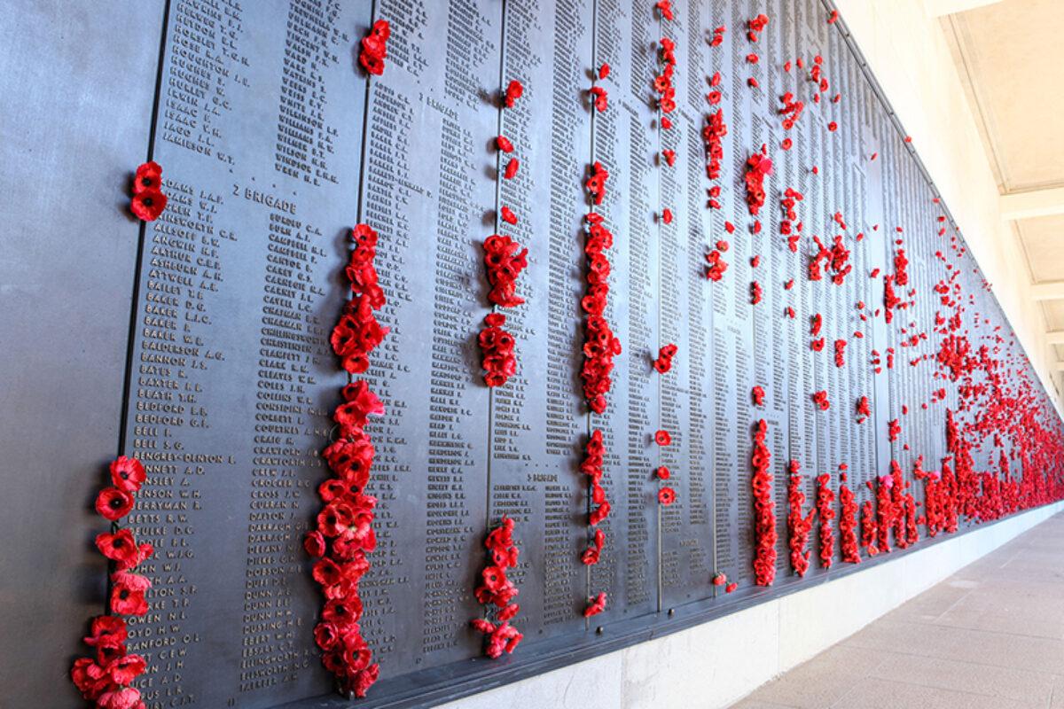 Aus Australian national war memorial in Canberra