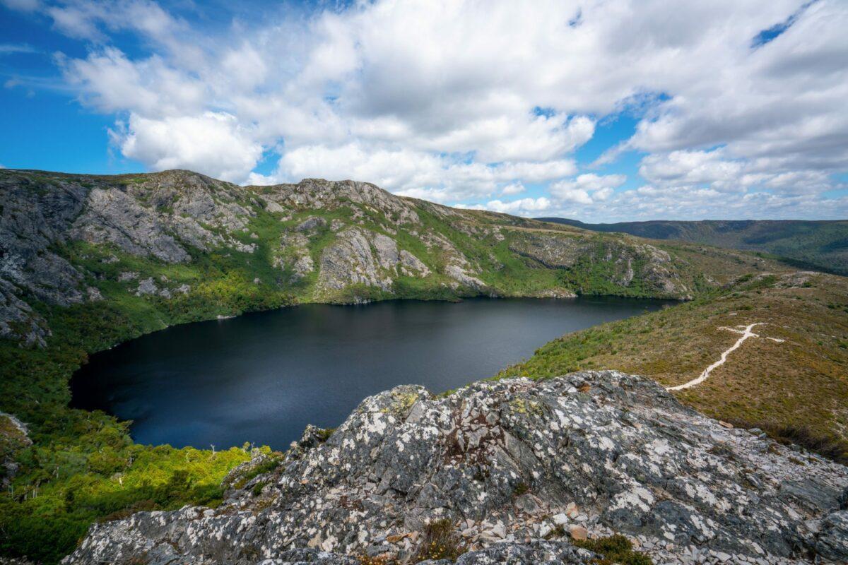 Aus Tasmania Cradle mountain national park