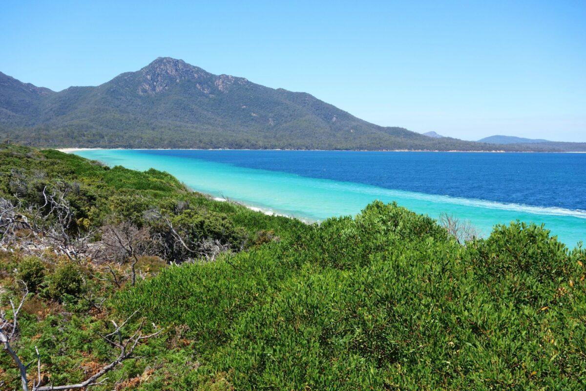 Aus Tasmania Freycinet National Park Hazard Beach