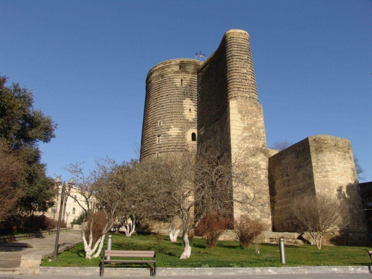 Azerbaijan Baku maiden tower