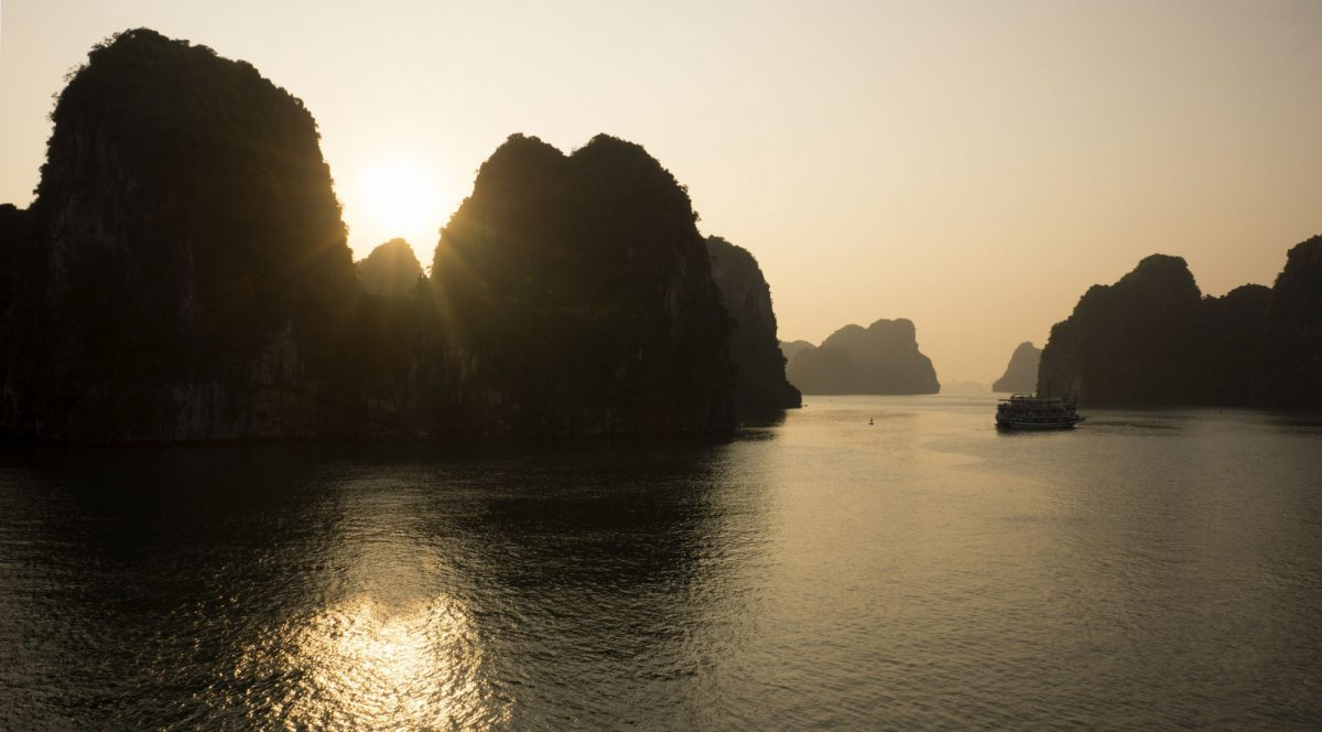 Bai Tu Long bay Halong Bay vietnam