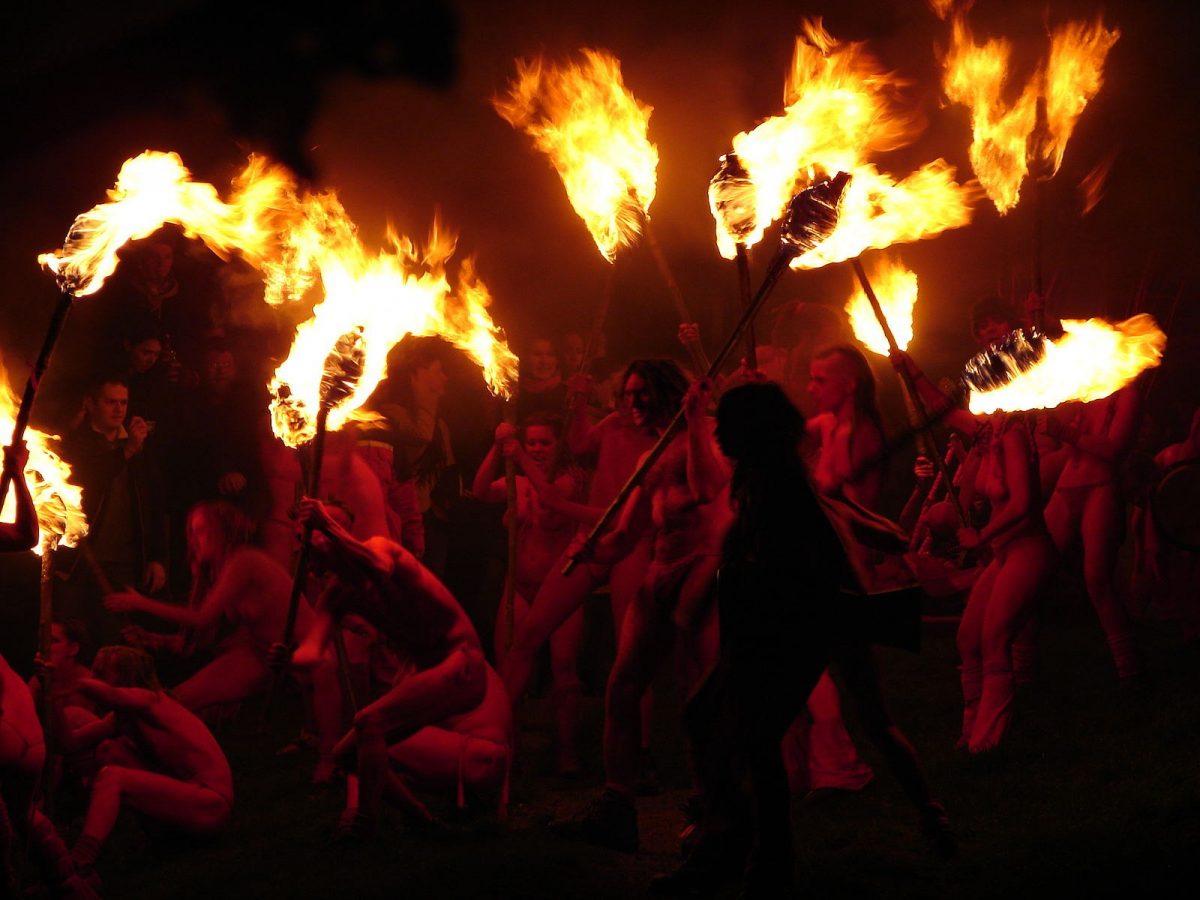 Beltane Fire Fest edinburgh scotland uk