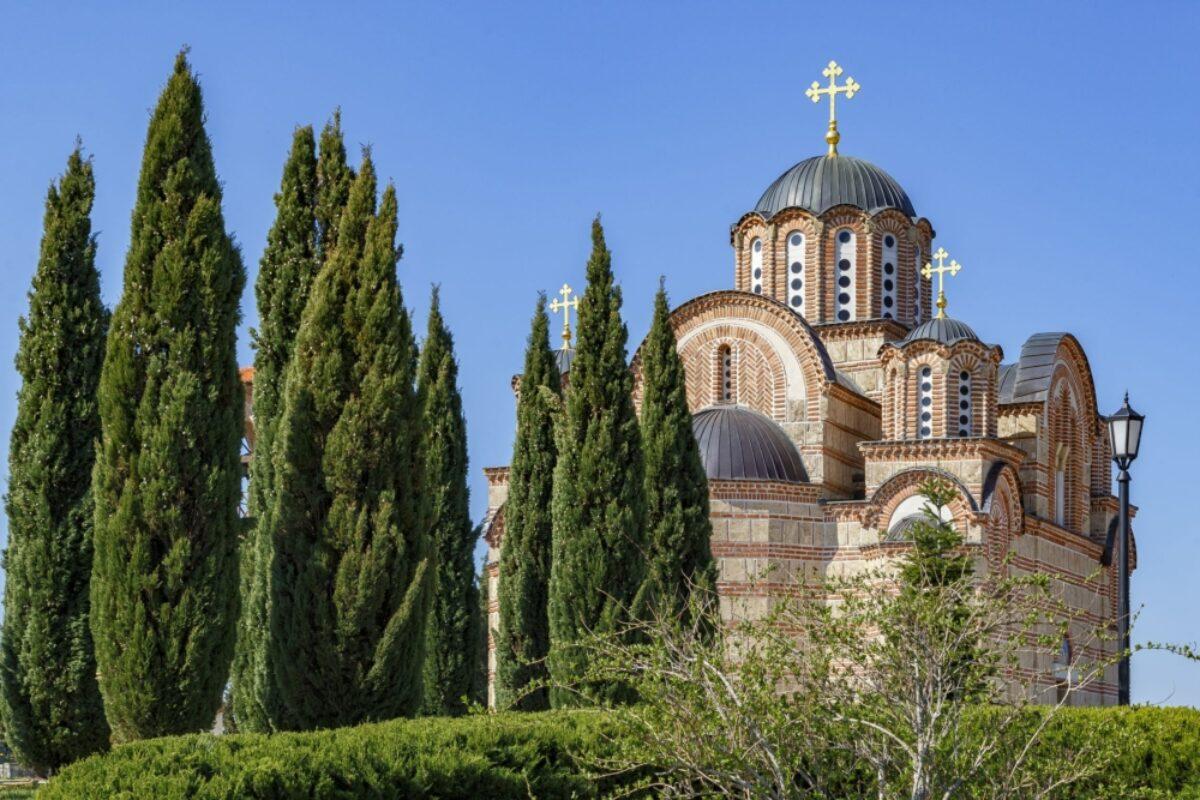 Bosnia Trebinje ercegovacka Gracanica Orthodox church