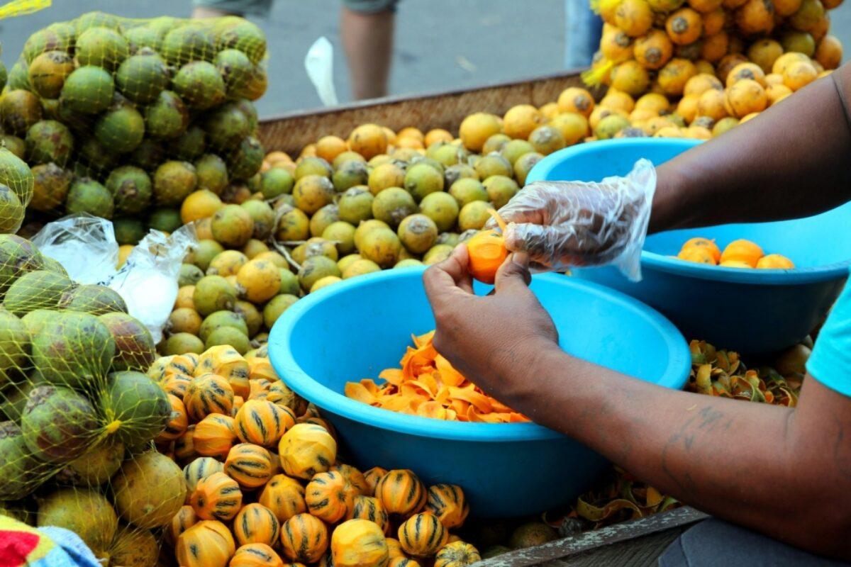 Brazil Manaus fruit market
