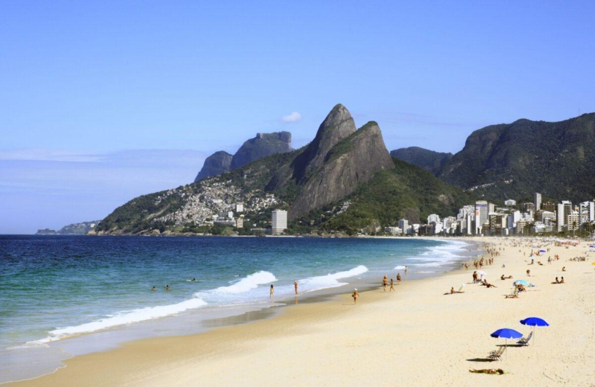 Brazil Rio leblon beach