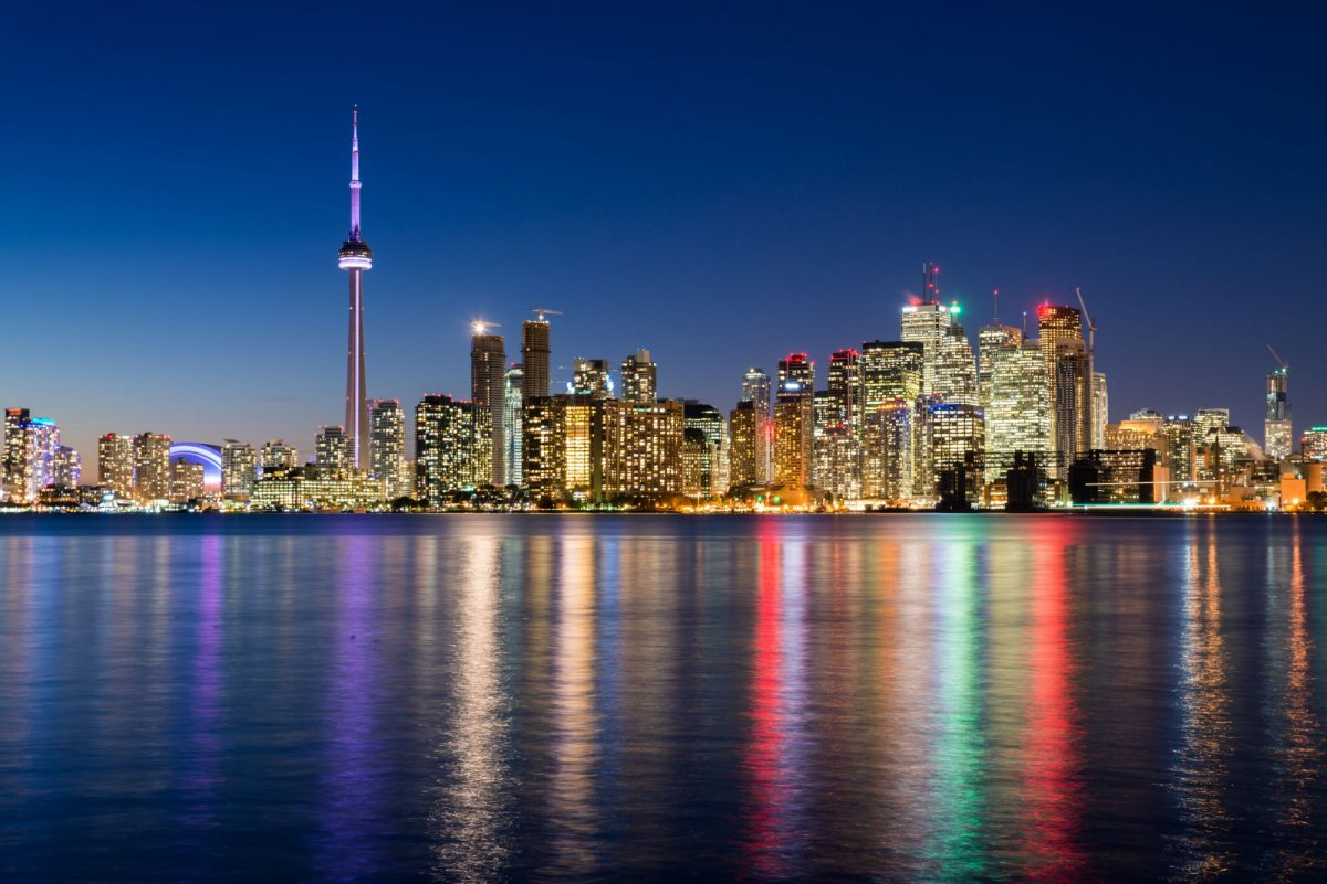 Canada Toronto skyline