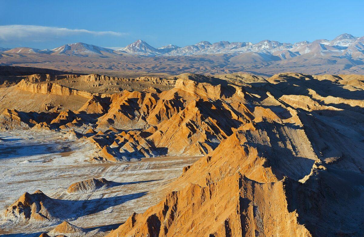 Chile Atacama Moon Valley