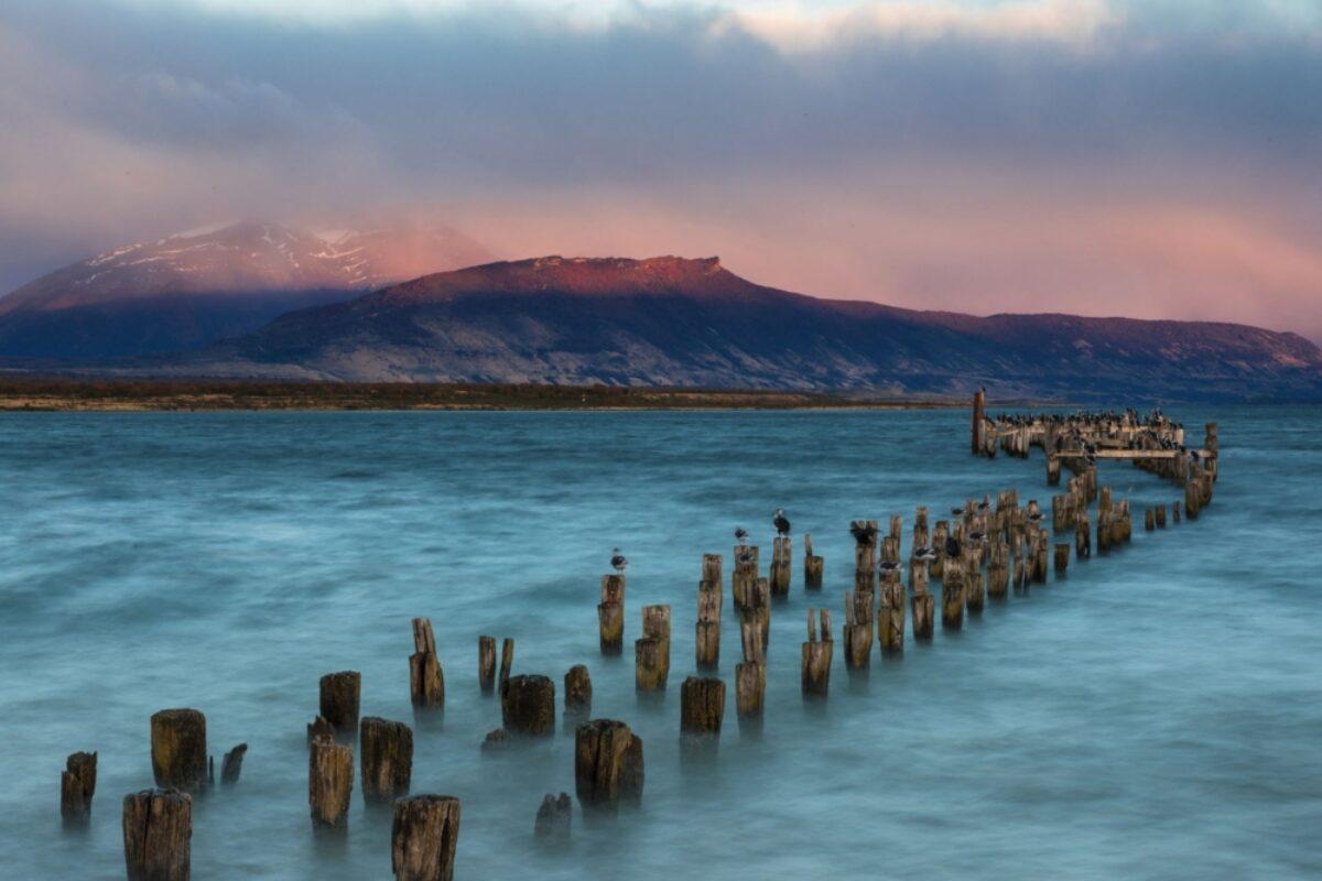 Chile Puerto Natales oldlandingstage