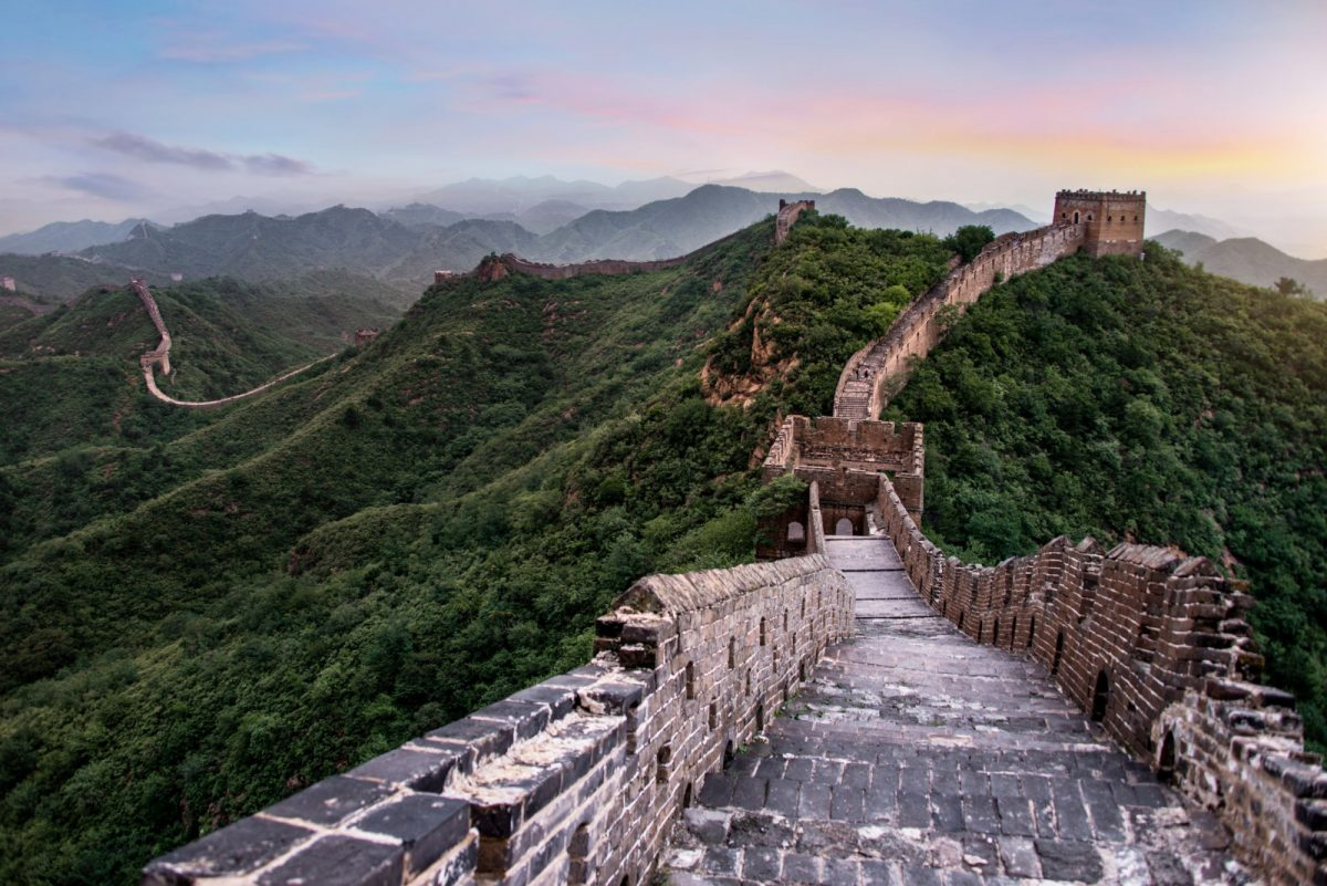 China Mutianyu Great Wall 2