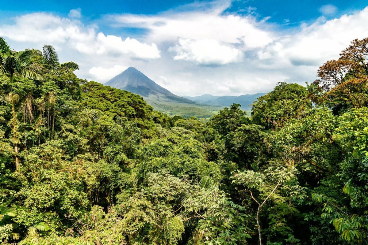 Costa Rica Arenal Volcano viewfromfaraway