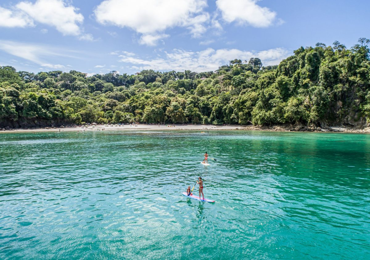 Costa Rica Manuel antonio np paddleboarding