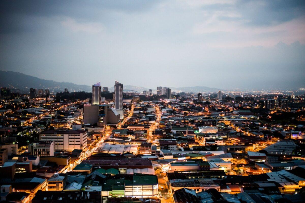 Costa Rica San Jose Skyline