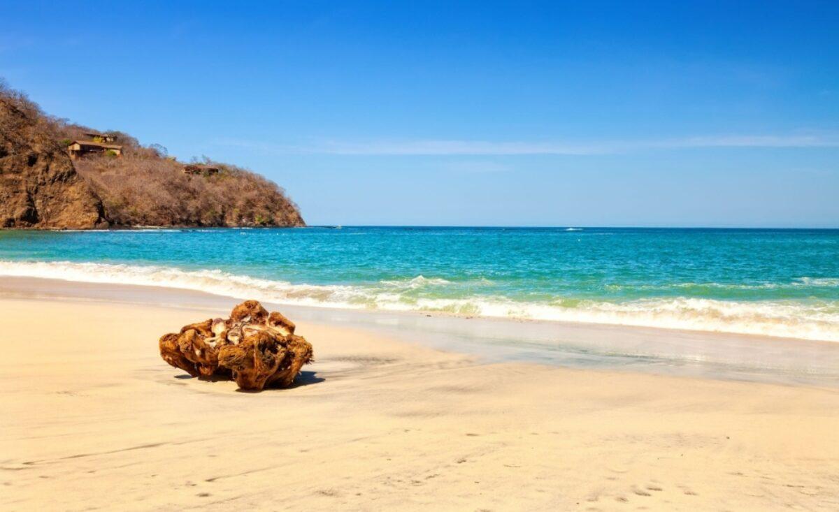 Costa Rica guanacaste beach along the Golfo de Papagayo
