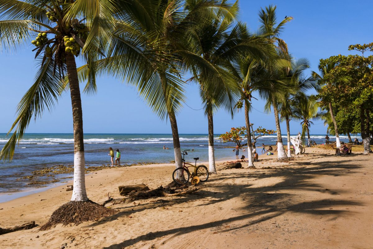Costa Rica puerto viejo beach