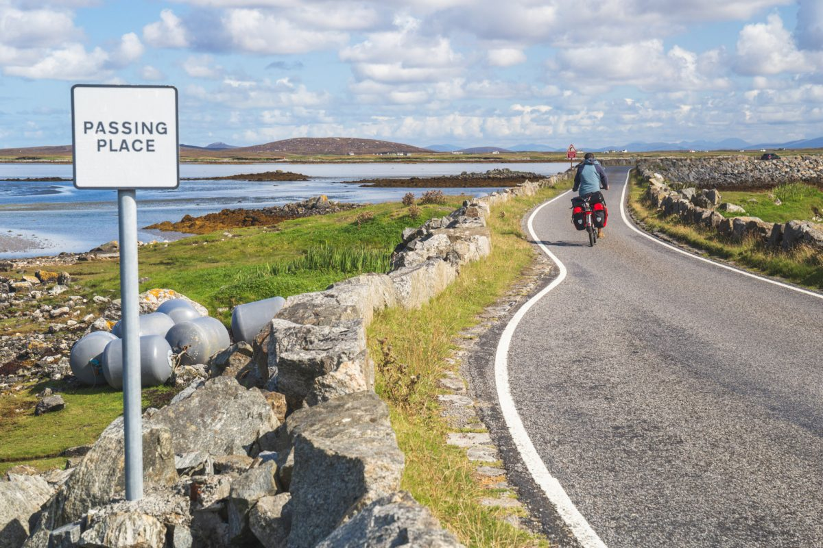 Cycle Touring South Uist The Outer Hebrides