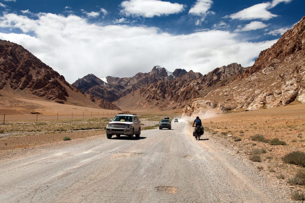 Cycling the Pamir Highway