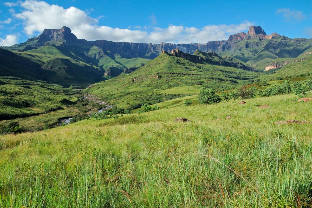 Drakensberg mountains Royal Natal National Park South Africa