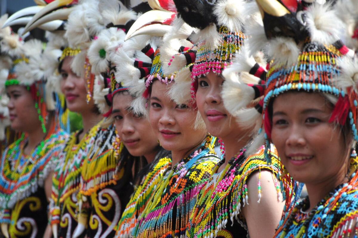Gaway Dayak Festival Kalimantan Indonesia