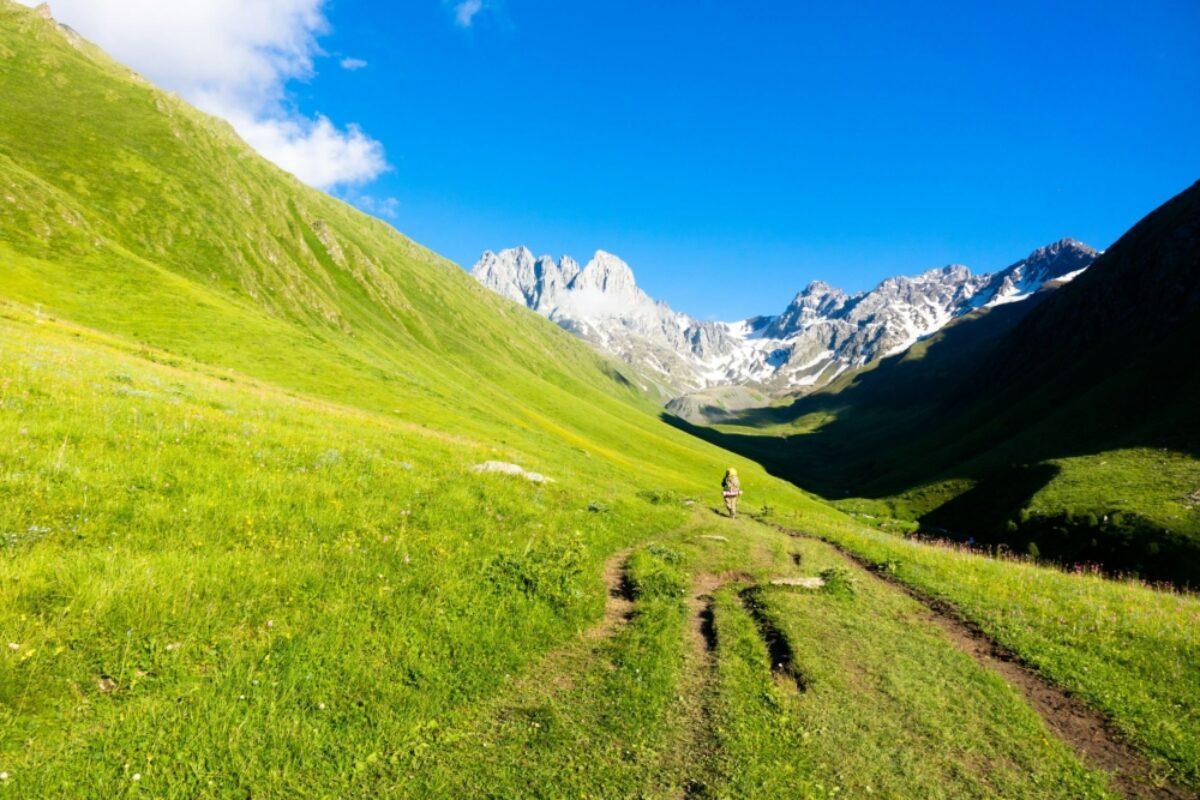Georgia Chauhi mountain range