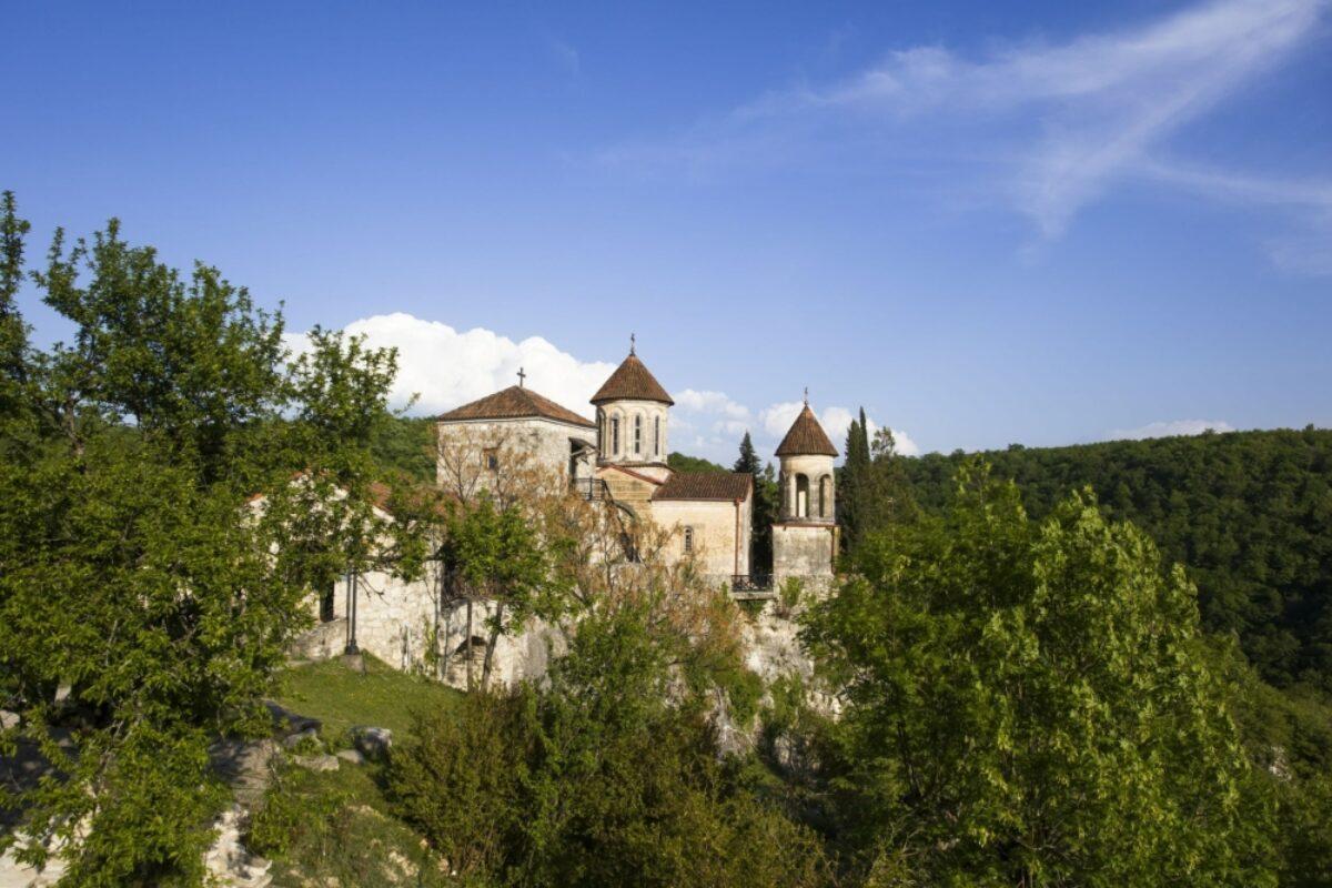 Georgia Kutaisi Motsameta Monastery