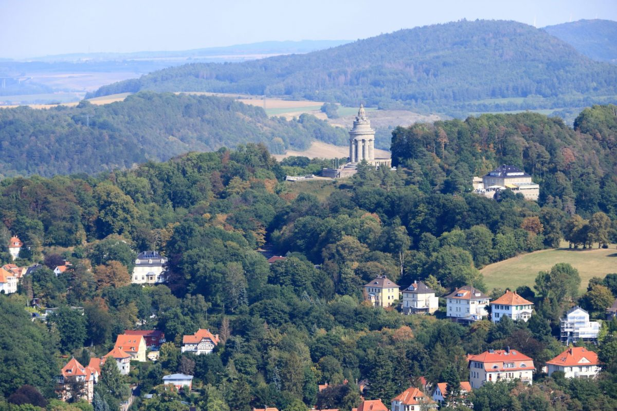 Germany Eisenach thuringia forest