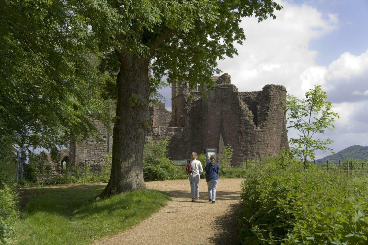 Goodrich Castle herefordshire england