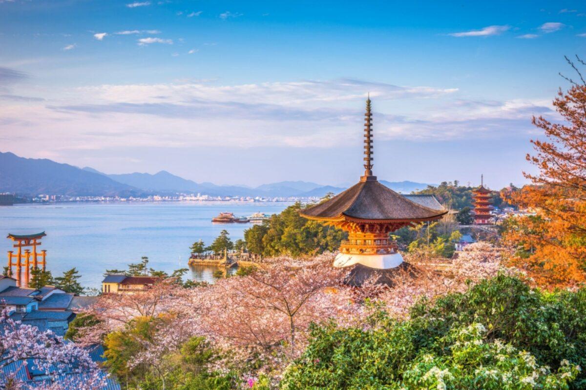 Hiroshima Miyajima view
