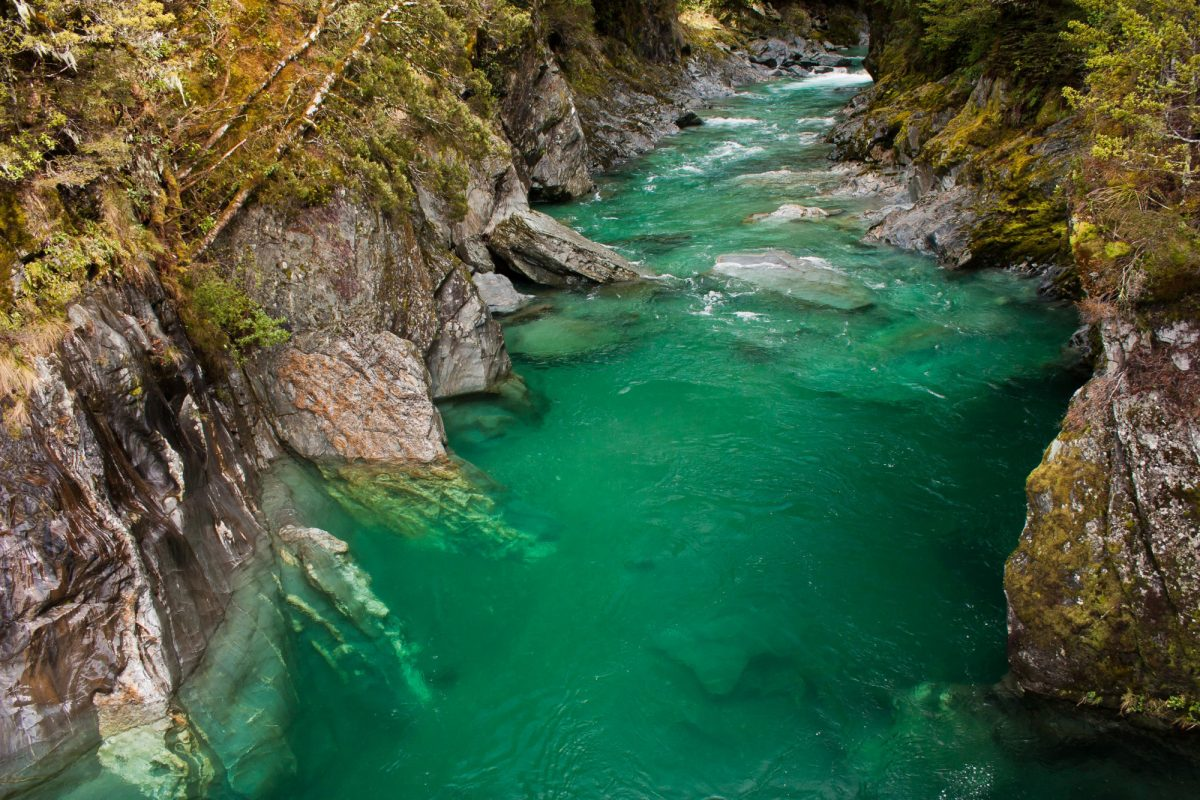 Hokitika Gorge stream