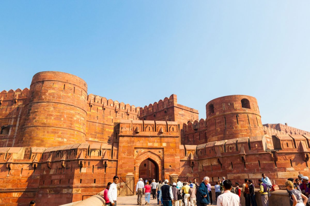 India Agra Red Fort