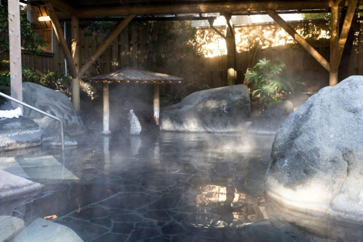 Japan Hakone onsen