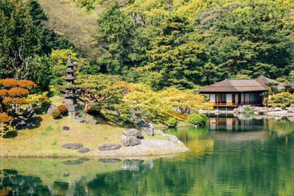 Japan Takamatsu Ritsurin
