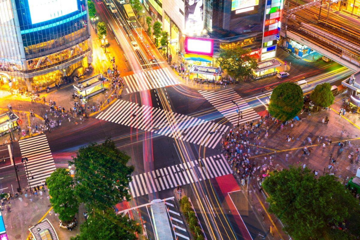 Japan Tokyo Shibuya Crossing