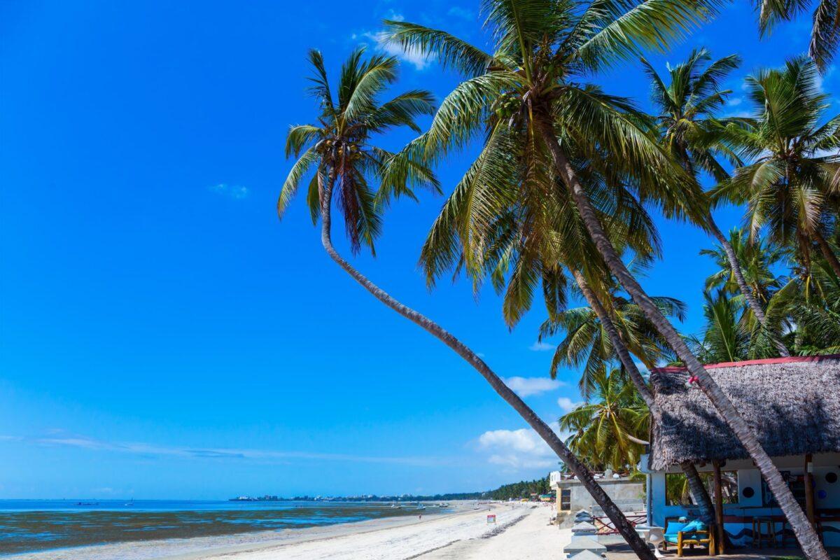 Kenya Mombasa beach