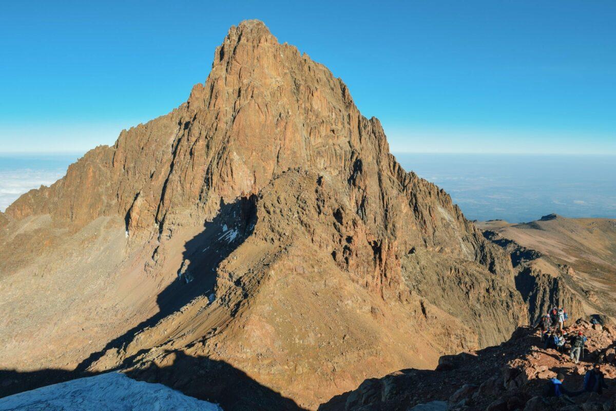 Kenya Mount Kenya Batian Peak