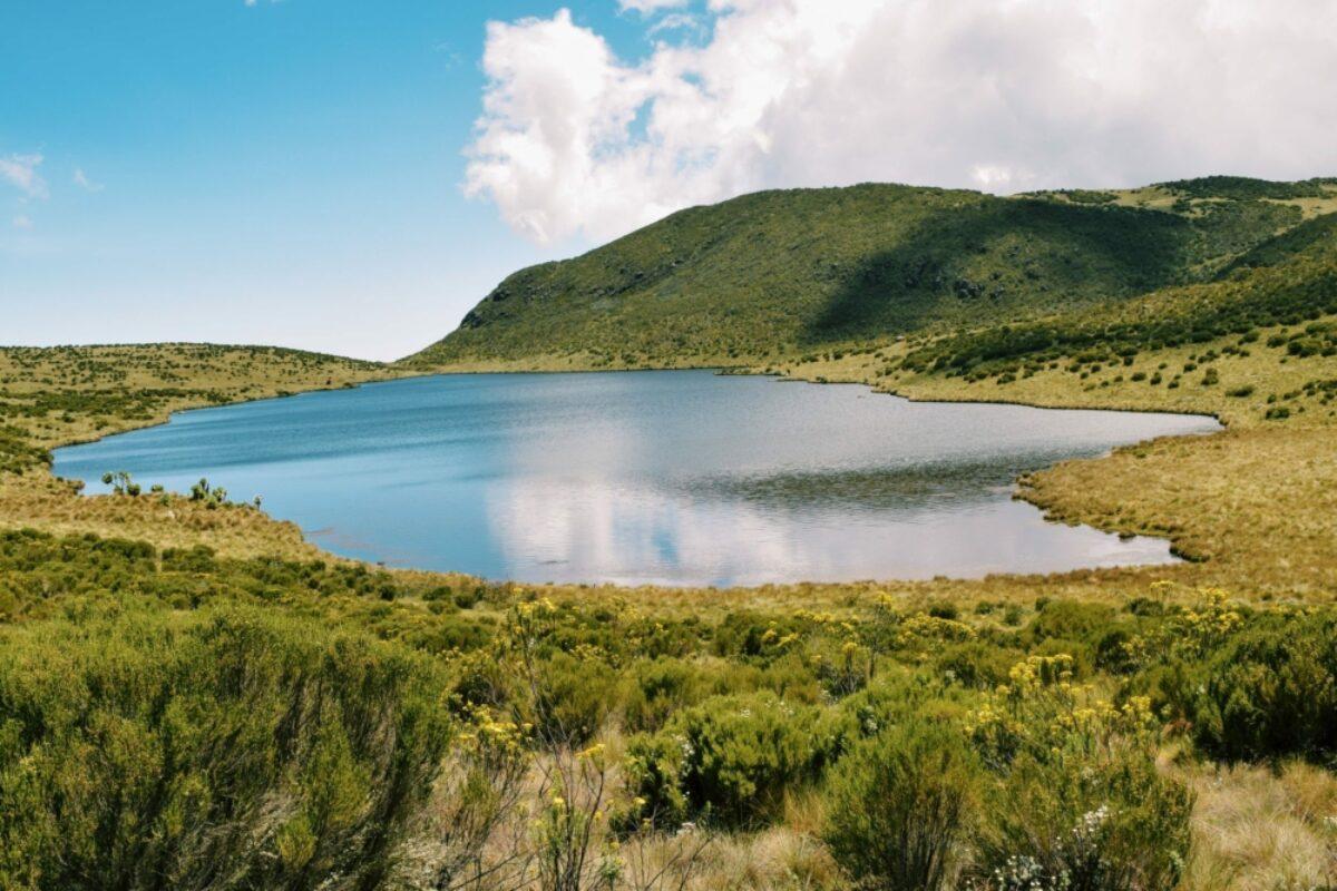 Kenya Mount Kenya Lake Ellis