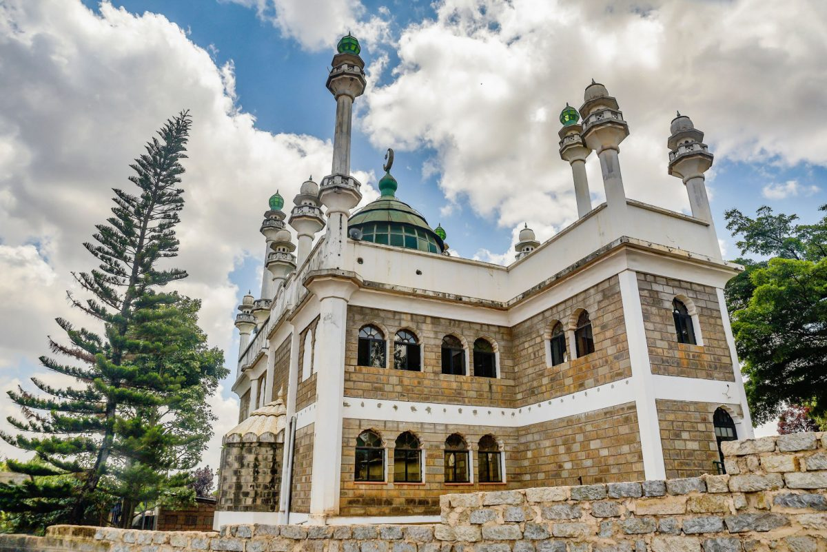 Kenya Nairobi Mosque Jamia