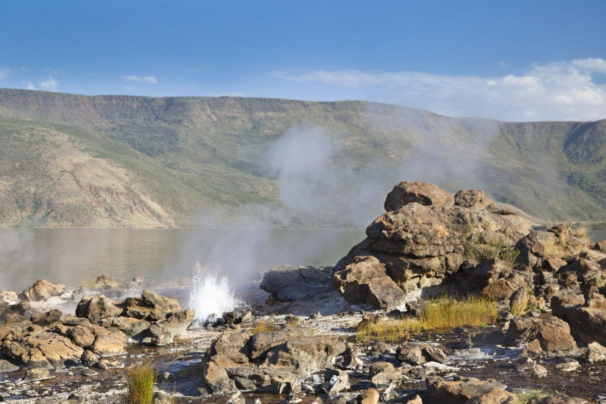 Kenya Rift Valley Lake Bogoria